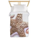 Sea Shells Twin Duvet