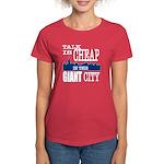 Giant City. Women's Dark T-Shirt