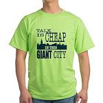 Giant City. Green T-Shirt