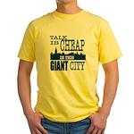 Giant City. Yellow T-Shirt