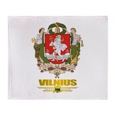 """Vilnius"" Throw Blanket"