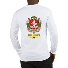 """Vilnius"" Long Sleeve T-Shirt"