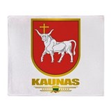 """Kaunas"" Throw Blanket"