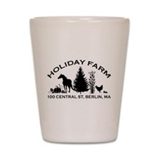 Farm Logo Shot Glass