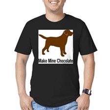 Cute Chocolate lab T