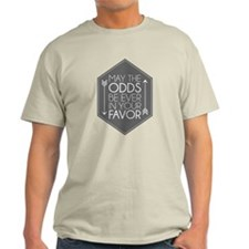 Hunger Games - May the Odds Light T-Shirt