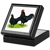 Australorp Chickens Keepsake Box