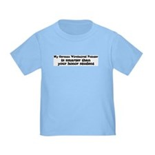 Honor Student: My German Wire T
