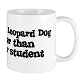 Honor Student: My Catahoula L Small Mugs