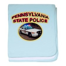 Pennsylvania State Police baby blanket