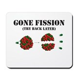 Gone Fission Mousepad