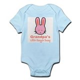 Grandpa's Snuggle Bunny Girl Infant Bodysuit