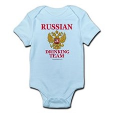 Cute Russian coat of arms Infant Bodysuit