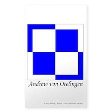 Andrew's Sticker (Rectangle 50 pk)