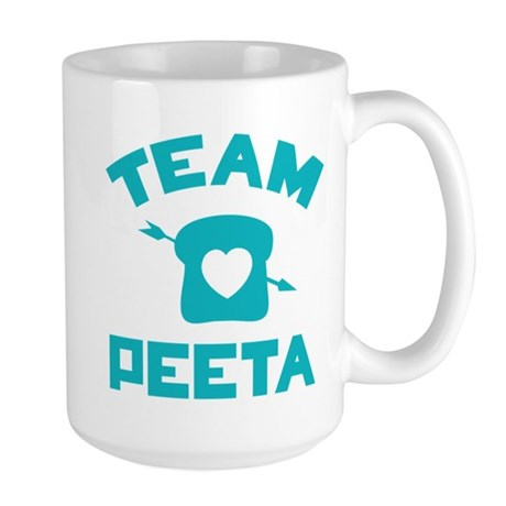 HG Team Peeta Large Mug