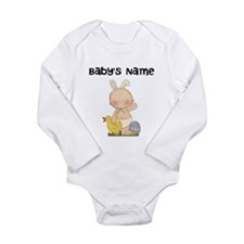 Personalized Baby Boy Easter Long Sleeve Infant Bo