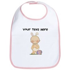 Personalize Baby Girl Easter Bib