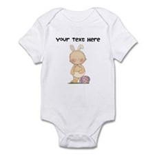 Personalize Baby Girl Easter Infant Bodysuit