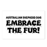 Australian Shepherd Dog Postcards (Package of 8)