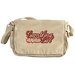 Gambling Girl Messenger Bag