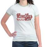 Gambling Girl Jr. Ringer T-Shirt