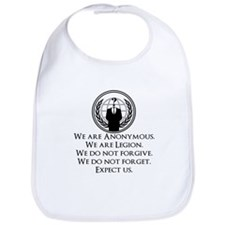We are Anonymous Bib
