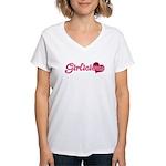 Girlicious Women's V-Neck T-Shirt