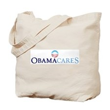Obama Cares Tote Bag