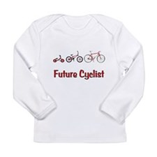 Future Cyclist Long Sleeve Infant T-Shirt