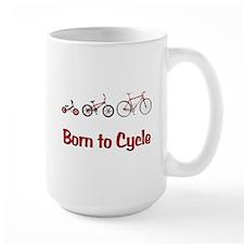 Born to Cycle Mug