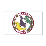 Dallas AAZK Car Magnet 20 x 12
