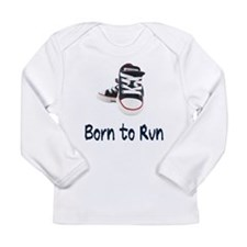 Born to Run Long Sleeve Infant T-Shirt