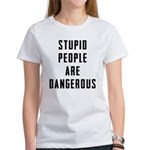 Stupid People Women's T-Shirt