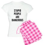 Stupid People Women's Light Pajamas