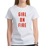 Girl On Fire 2 Women's T-Shirt