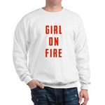 Girl On Fire 2 Sweatshirt