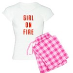 Girl On Fire 2 Women's Light Pajamas