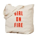 Girl On Fire 2 Tote Bag