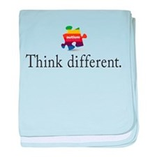 Think Different baby blanket