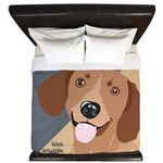 Dachshund-Kiss.Snuggle.Repeat. King Duvet
