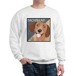 Dachshund-Kiss.Snuggle.Repeat. Sweatshirt