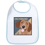 Dachshund-Kiss.Snuggle.Repeat. Bib