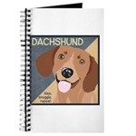 Dachshund-Kiss.Snuggle.Repeat. Journal
