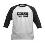 German Shepherd Kids Baseball Jersey