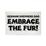German Shepherd Rectangle Magnet (10 pack)
