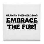 German Shepherd Tile Coaster