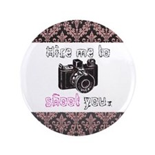 "Hire Me - 3.5"" Button (100 pack)"
