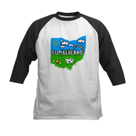 Cumberland, Ohio. Kid Themed Kids Baseball Jersey