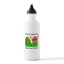 Funny Easter Eggs Water Bottle