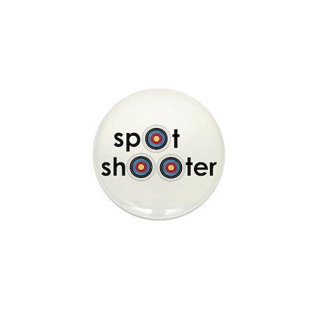 spot shooter Mini Button